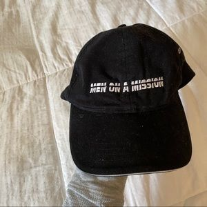 🍒Men On A Mission Black Hat